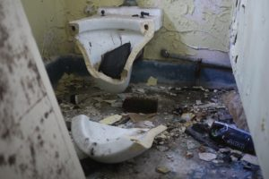 """Broken Toilet"" by Siobhan McKeown. Some rights reserved."