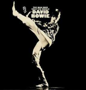 The cover was reissued when Bowie's dress was considered too risque. Despite clearly being from the next era, this cover remained the one in circulation until the 90s!