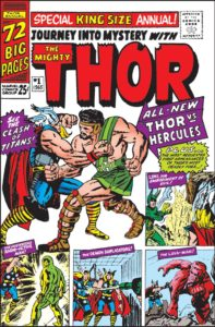 Journey Into Mystery - Annual 1, Hercules first appearance