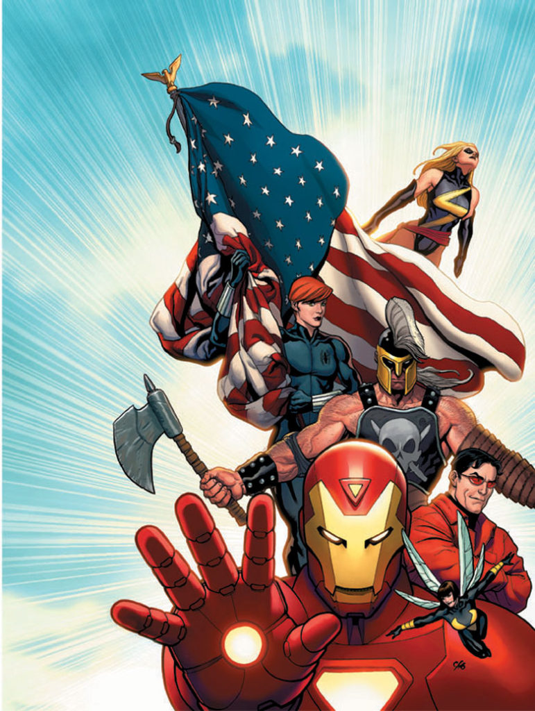 Mighty Avengers by Cho