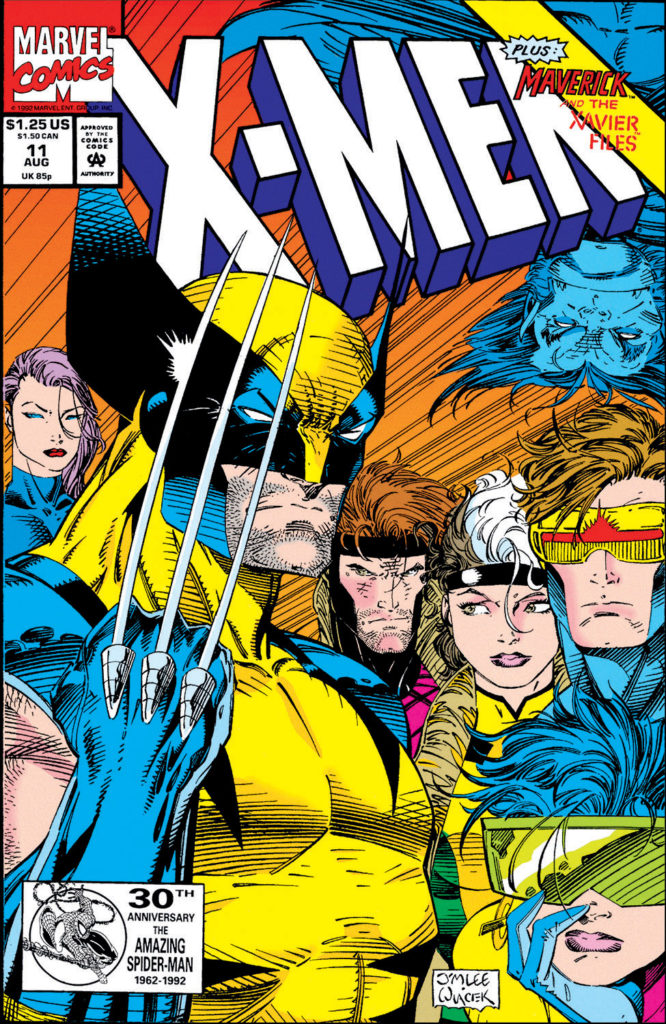 X-Men, Vol. 2 (1991) #11 - Jim Lee's final issue on art.