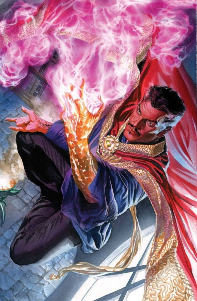 Doctor Strange by Alex Ross