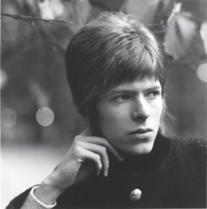 David Bowie, 1966. Photo by David Wedgbury.