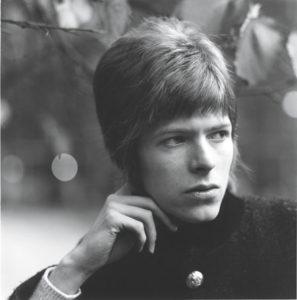 David Bowie, 1966. Photo by David Wedgbury.